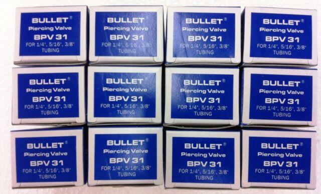"SUPCO Bullet Piercing Valve, 12 Pack of BPV31, 1/4"", 5/16"", 3/8"" Tubing"