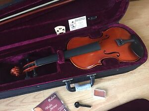 LUTHIERS-SPECIAL-NEW-OLD-STOCK-DIPALO-DELUXE-4-4-SIZE-VIOLIN-PACKAGE