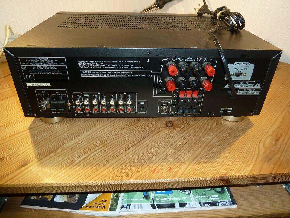 Integreret forstærker, Pioneer, SVX-405RDS