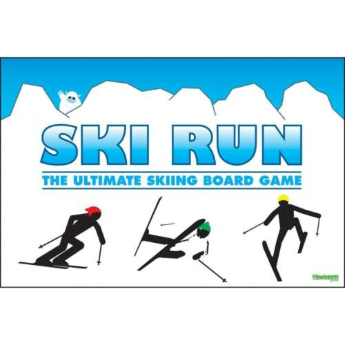Ski Run - The Ultimate Skiing Family Board Game - for the whole family