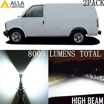 Xenon White Alla Lighting LED hi   lo  Beam hd-light  hd-lamp  Bulbs Light Lamp