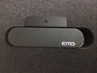 Emg Bz S Active Magnetic Bouzouki / Mandola Fretboard Mount Magnetic Pickup
