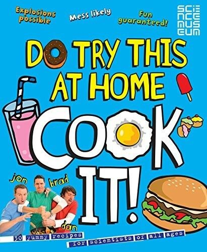 1 of 1 - Good, DO TRY THIS AT HOME: COOK IT! (Punk Science), Science, Punk, Book