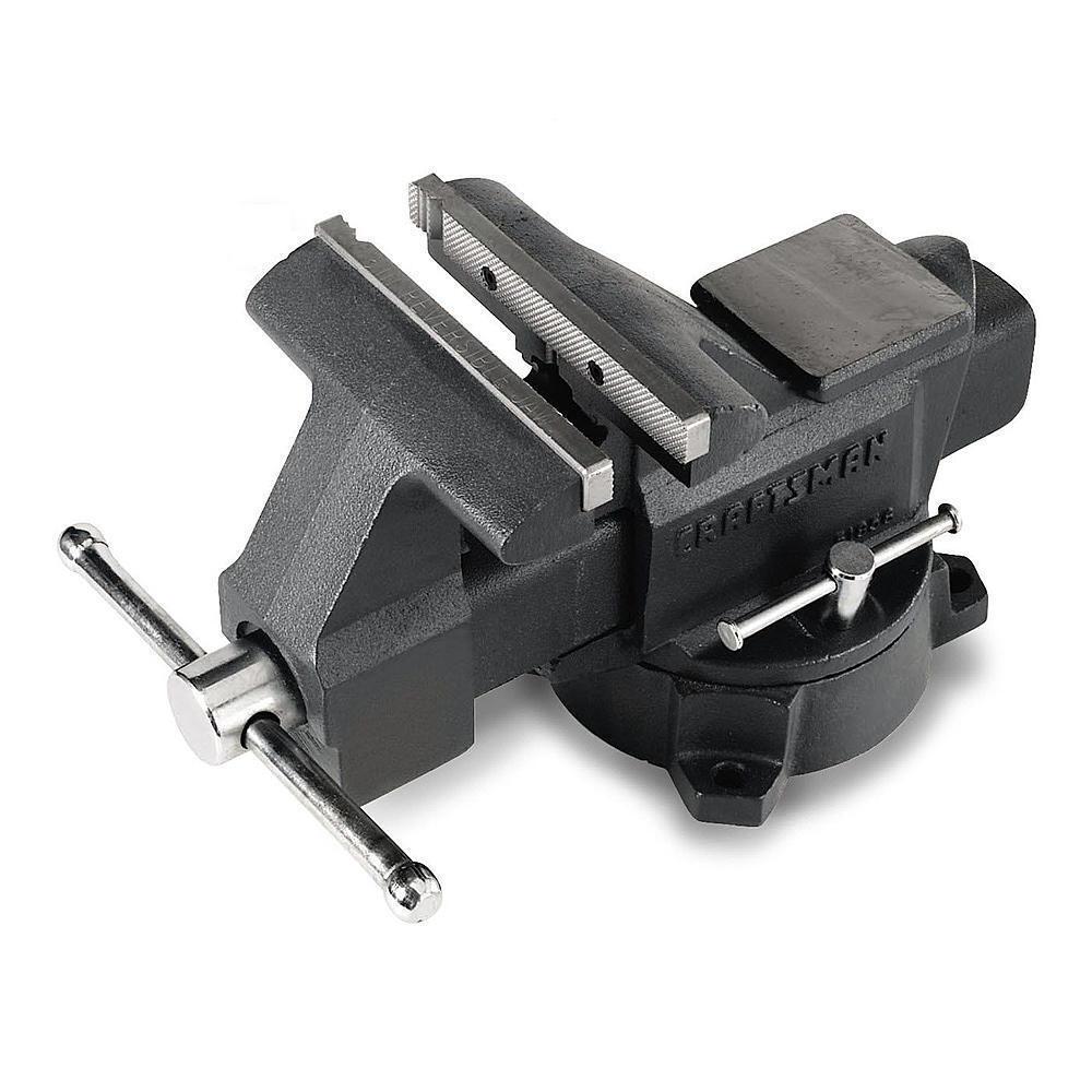 Craftsman 6 in. Bench Vise Grip Shop Equipment Mechanics Tool Garage Workbench 4