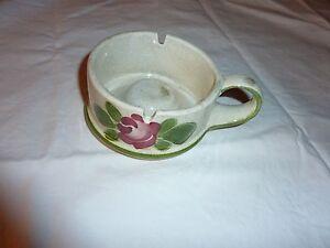 Waechtersbach-Keramik-Aschenbecher-mit-Henkel-Motiv-Waechtersbacher-Rose