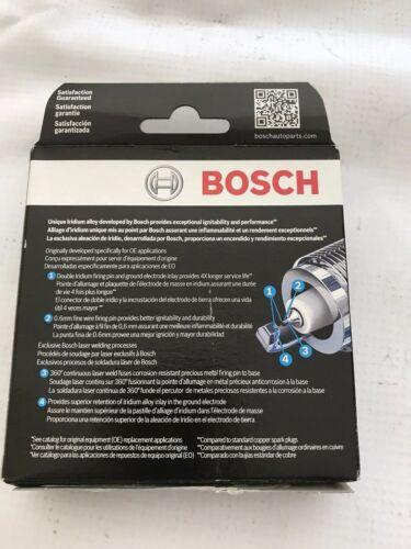 Spark Plug-OE Fine Wire Double Iridium Bosch 9624 set of 4 fit Rio Veloster Soul
