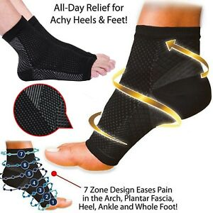 498e772348 Image is loading Plantar-Fasciitis-Compression-Socks-Foot-Arch-Support-Pain-