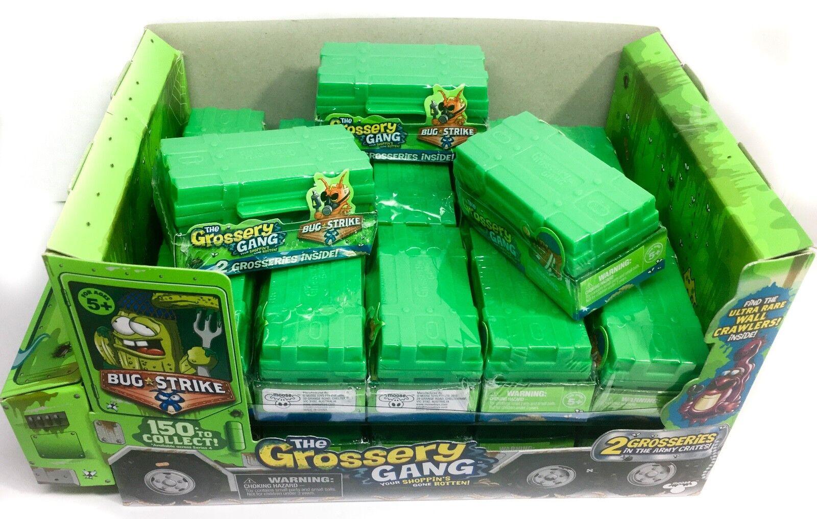 El cuadro de visualización grossery Gang + 21 cajas de munición Caja ciego con 2 grosseries Mini Fig