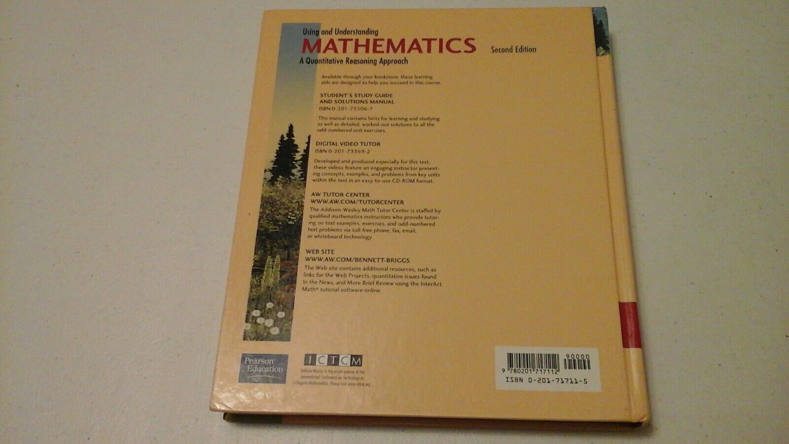 Using and Understanding Mathematics : A Quantitative Reasoning Approach by  Jeffrey O  Bennett and William L  Briggs (2001, Hardcover)