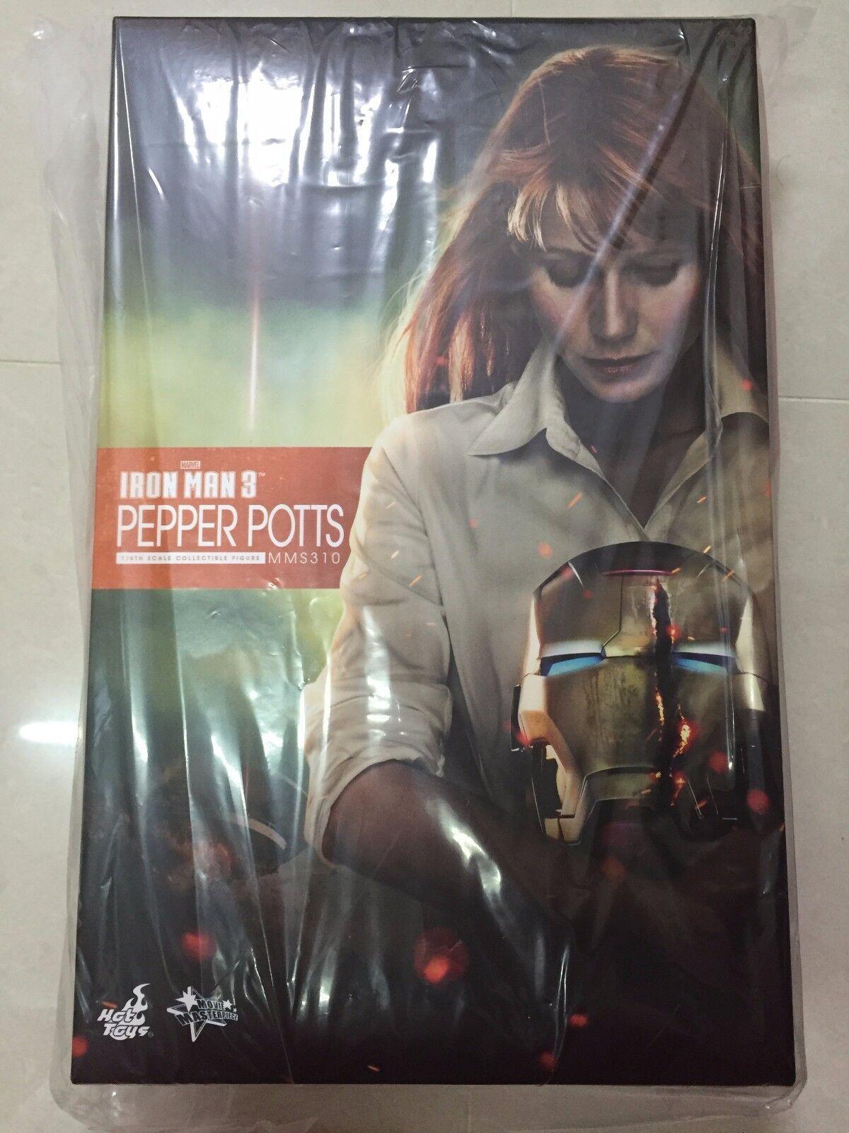 Hot Toys MMS 310 Hot Toys Iron Man 3 Pepper Potts Gwyneth Paltrow Figura Nueva