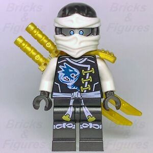 New-Ninjago-LEGO-Ninja-Zane-Skybound-Master-of-Ice-Minifigure-70603-Genuine