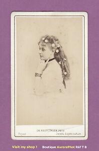 CDV-REUTLINGER-a-PARIS-CECILE-DOUGLAS-ACTRICE-PORTRAIT-THEATRE-1870-T8