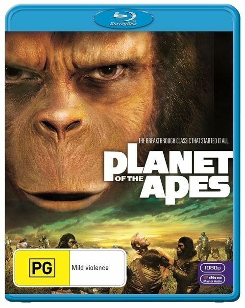 Planet Of The Apes (Blu-ray, 2011) PG