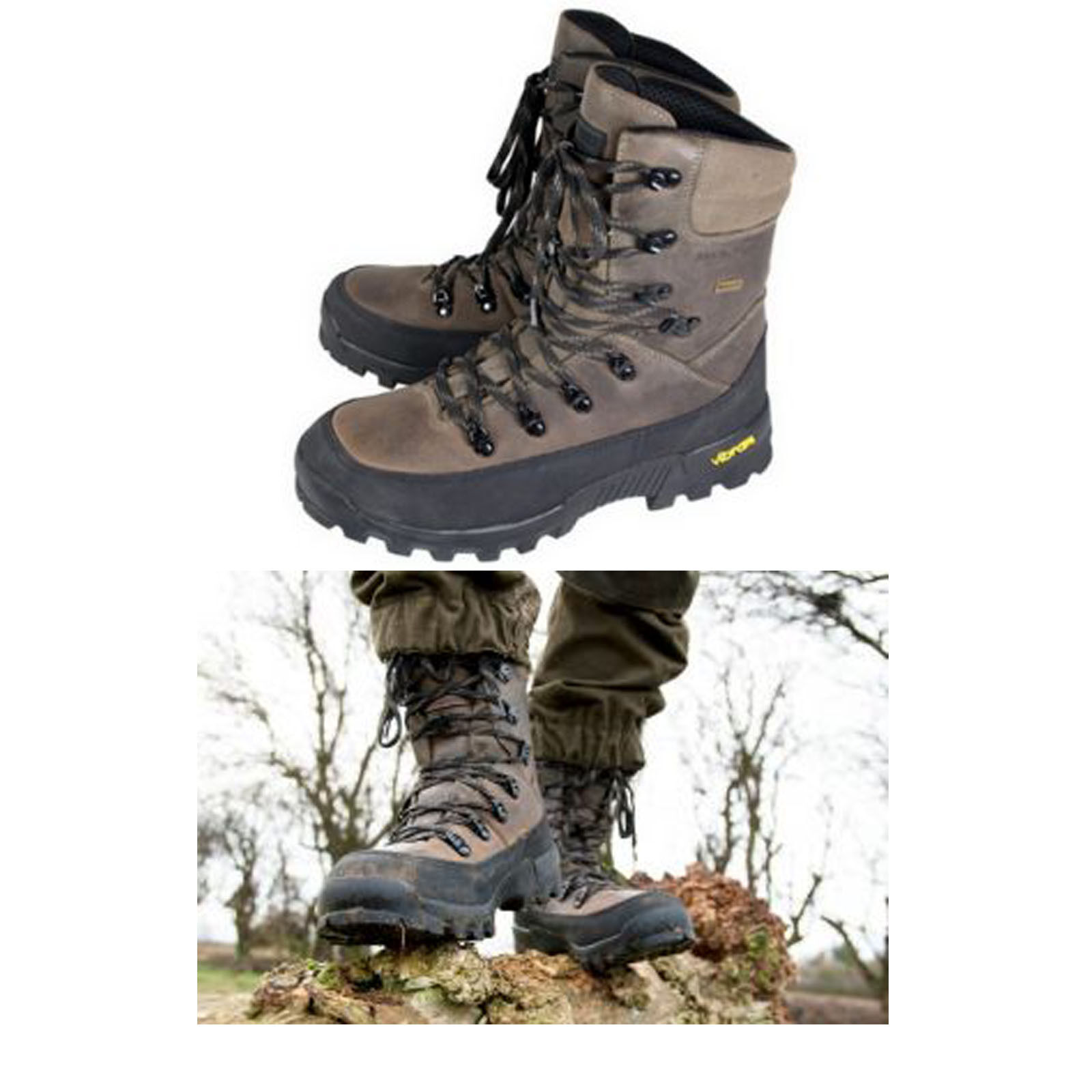 Jack Pyke Hunters Stiefel For Hunting, Hiking, Fishing, Outdoors