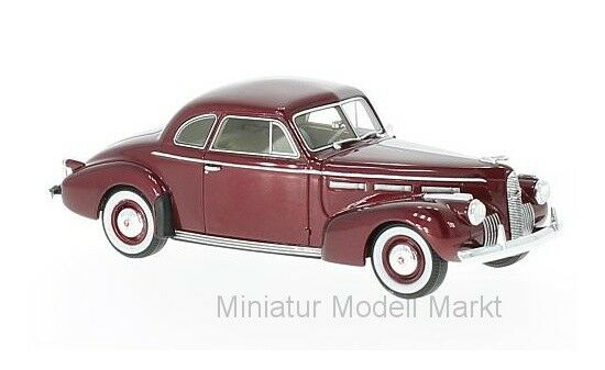 47171 - Neo LaSalle Series 50 Coupe - metallic-rot - 1940 - 1 43