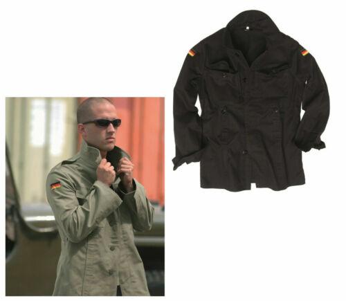 Nouveau Armée//Camouflage Veste Noir Olive Travail Veste BW Veste De Champ Chemise militaire anglaise