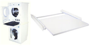 zwischenbausatz rahmen f r trockner auf waschmaschine lade ausziehlade neu ebay. Black Bedroom Furniture Sets. Home Design Ideas