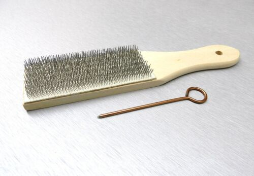 File Card Brush Cleaner /& Pick Clean Files Remove Collected Filings Lutz #10 USA