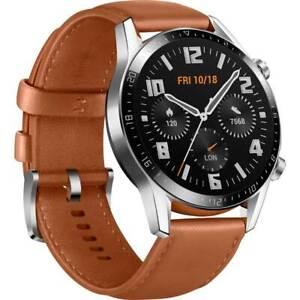 Smartwatch-Huawei-Watch-GT2-Classic-46mm-Brown-Garanzia-EU-NUOVO