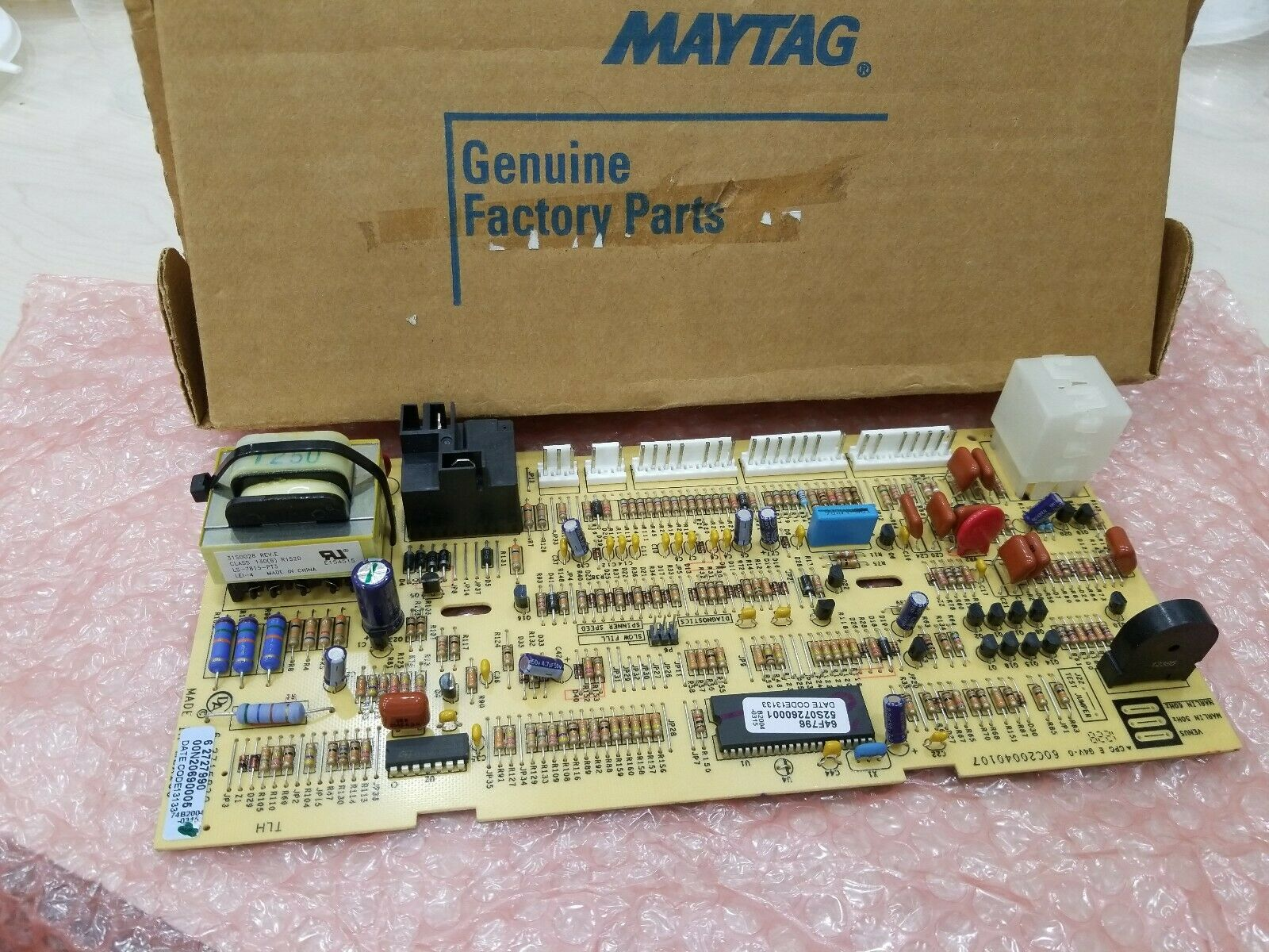 Lg EBR79950213 Washer//Dryer Combo Electronic Control Board Genuine OEM part