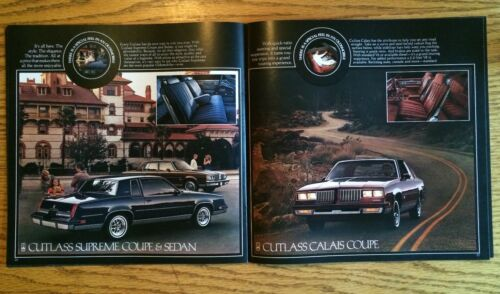 84 1984 Oldsmobile New Model Options and Accessory Dealer Catalog NEW!