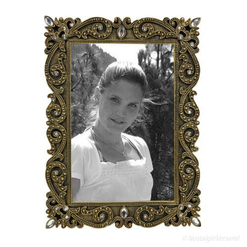 Art deco nouveau cadre photo cadre photo rectangulaire 10x15 or strass deco