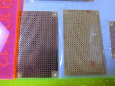 Prototyping PCB Circuit Board 94x53mm Stripboard Veroboard Single Sided Qty of 1