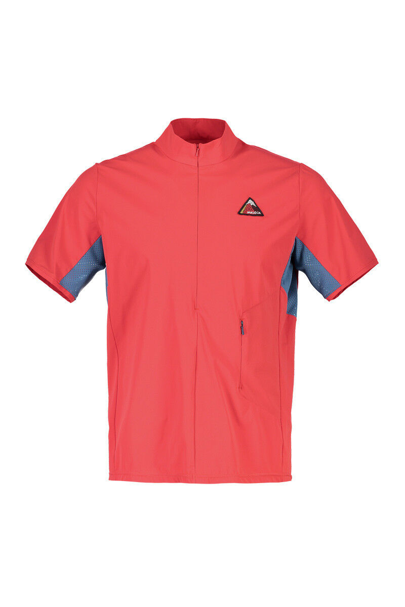 Maloja Shirt Multisport Haut Padredm. red Élastique Predection Anti-uv