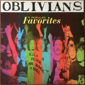 OBLIVIANS-POPULAR-FAVORITES-CRYPT-RECORDS-LP-VINYLE-NEUF-NEW-VINYL-REISSUE