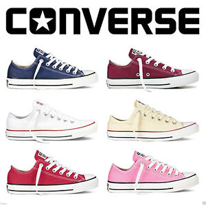 Unisex-Mens-Womens-All-Star-Convers-Chuck-Taylor-High-Lo-Tops-Canvas-Trainers