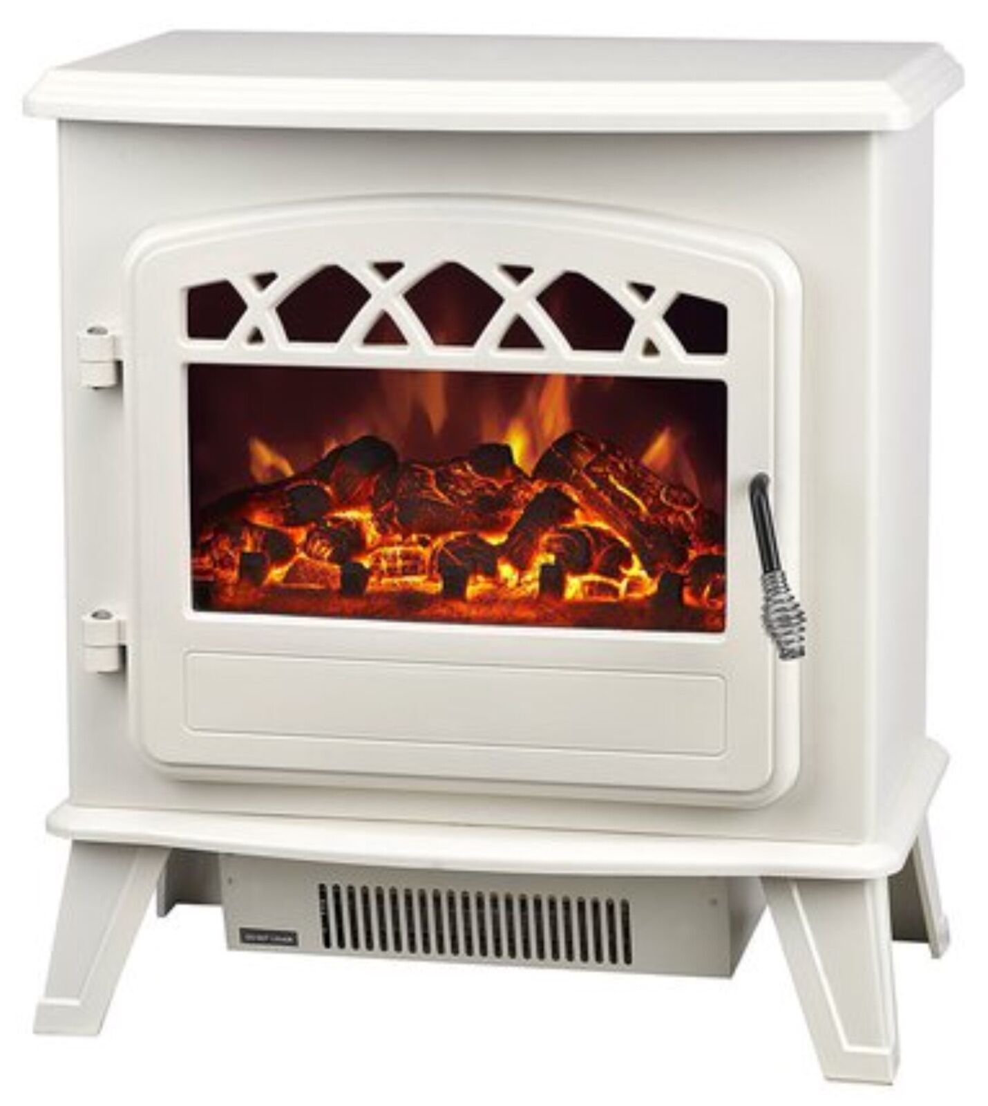 galleon fires castor electric stove heater with log flame effect