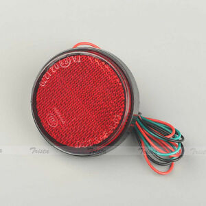 1PC Red LED Reflector Tail Brake Stop Marker Light Truck Trailer RV Motorcycle C