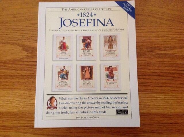 1824 Josefina, Teacher's Guide to Six Books About the America's SW Frontier, New