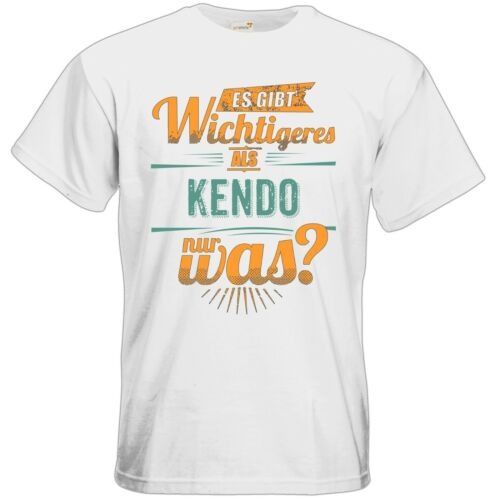RAHMENLOS® Geschenke es gibt wichtige.. Sportart Kendo T-Shirt getshirts