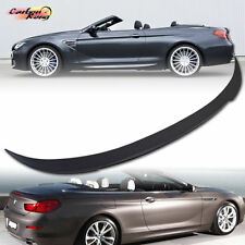 #ITEM IN LA# BMW 6-Series Convertible F12 V Style Rear Trunk Spoiler ABS 650i M6
