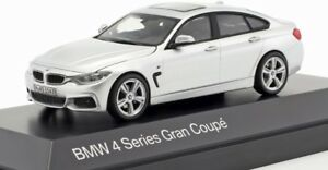 BMW-4-Series-Gran-Coupe-Silver-official-dealer-model-scale-1-43-new-car-gift