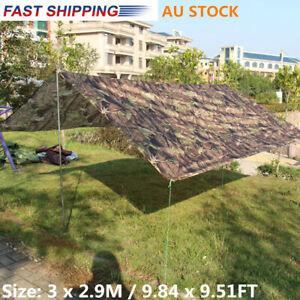 AU-Outdoor-Camping-Waterproof-Rain-Tarp-Cover-Tent-Canopy-Shelter-Sunshade
