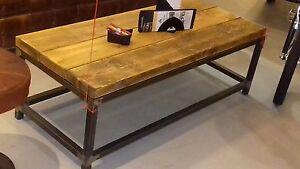 Tavolo Legno Massello E Ferro.Dettagli Su Tavolo Vintage In Legno Massello In Faggio 100x45 E Ferro Stile Industriale