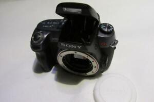 Sony-ALPHA-A550-14MP-Digital-SLR-fotocamera-DSLR-solo-corpo-Nera-SPEDIZIONE-VELOCE
