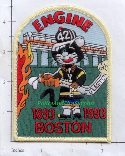 Boston Rescue 2 Eagle Design Fire Patch