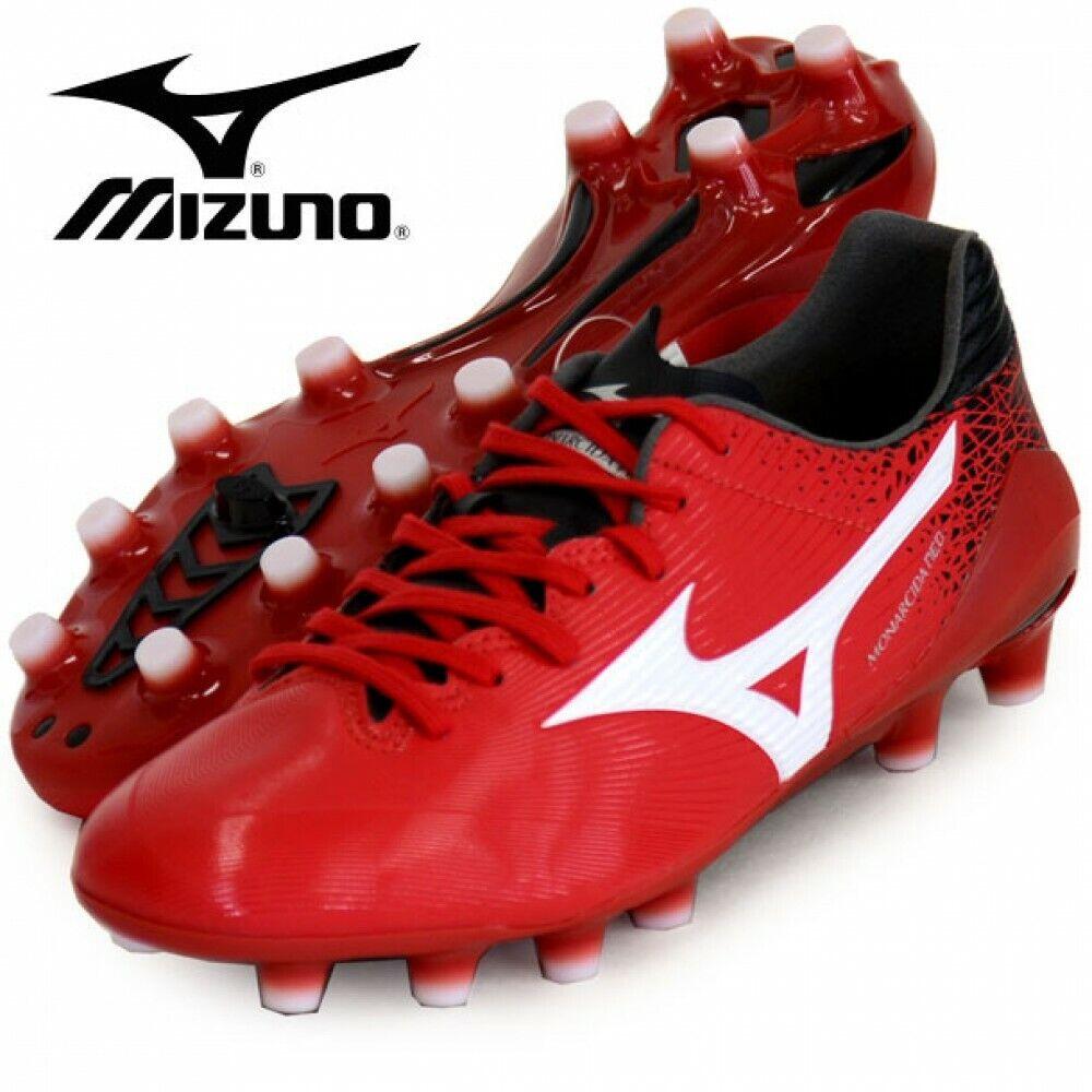 Mizuno Monarcida Neo pro Calcio Sautope P1GA1922 Rosso Bianco con Tracciabilità