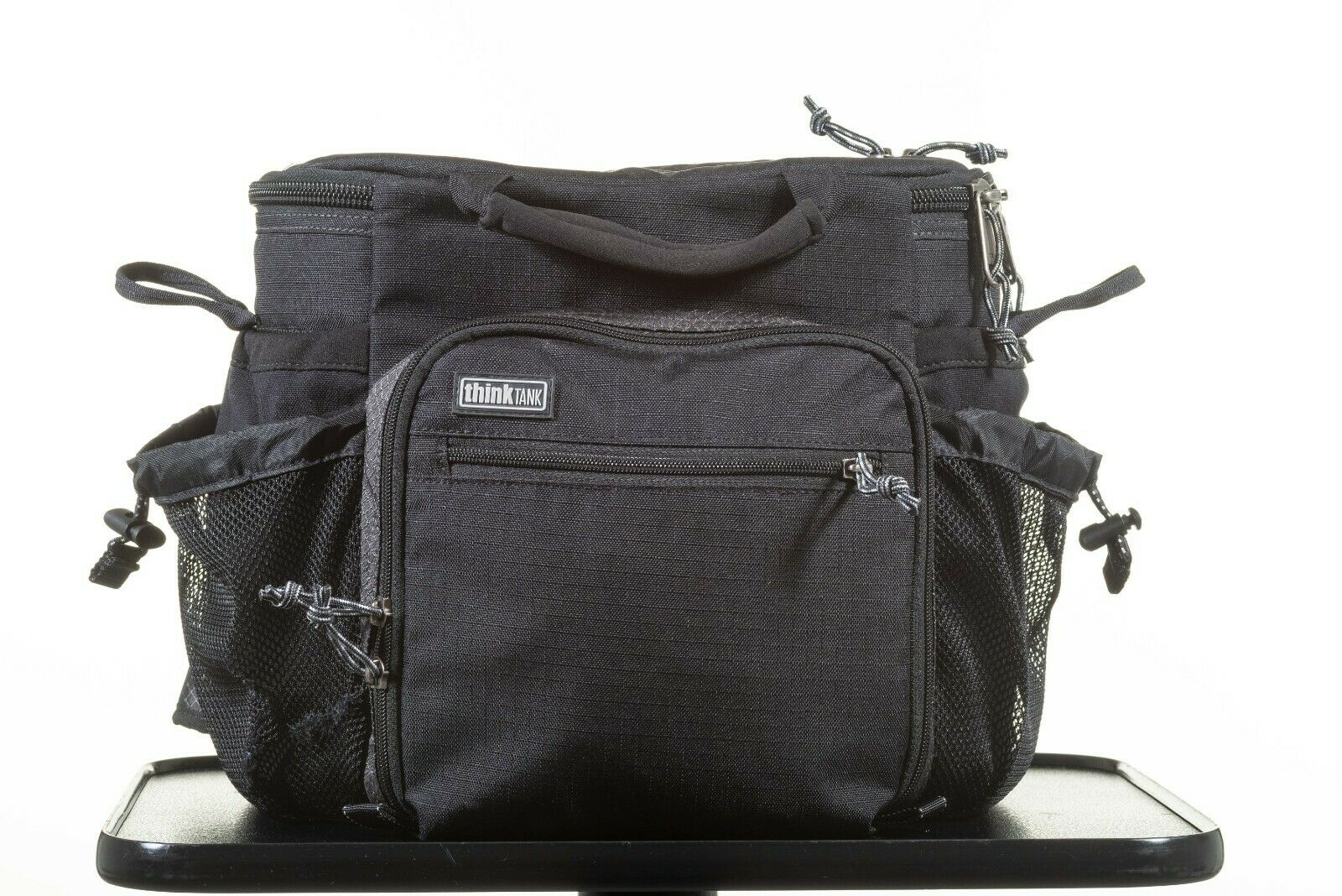 Think Tank Speed Racer camera bag with shoulder strap and waist belt clip