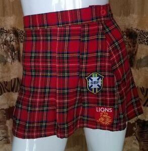 Mini-Jupe-plisse-style-ecossais-taille-38