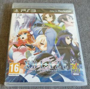 Sony Playstation 3 PS3 juego Xblaze Code: embrión Totalmente Nuevo Sellado