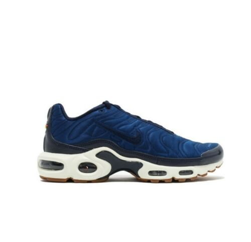 NIKE WOMENS AIR MAX PLUS PREMIUM UK SIZE 4 OBSIDIAN BLUE TRAINER RUNNING SHOE