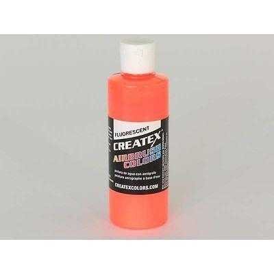 (8,62€/100ml) fluorescent orange Createx Airbrush Colors Farbe 120ml 12 5409 Cre