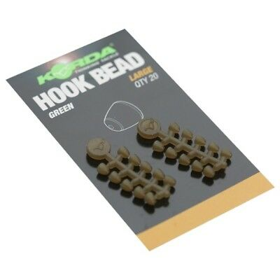 Korda Hook Beads Large 20 Per Pack KHBL