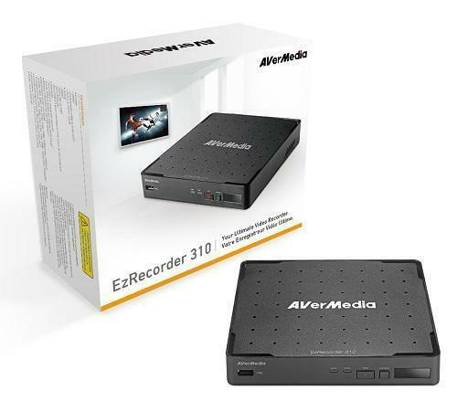 NEW AVERMEDIA EzRecorder 310 ER310 HD Video Capture Recorder Remote 1080P HDMI