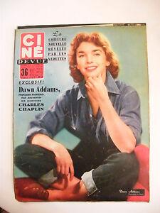 Cine-Revue-N-45-Novembre-1956-Dawn-Addams-Charles-Chaplin