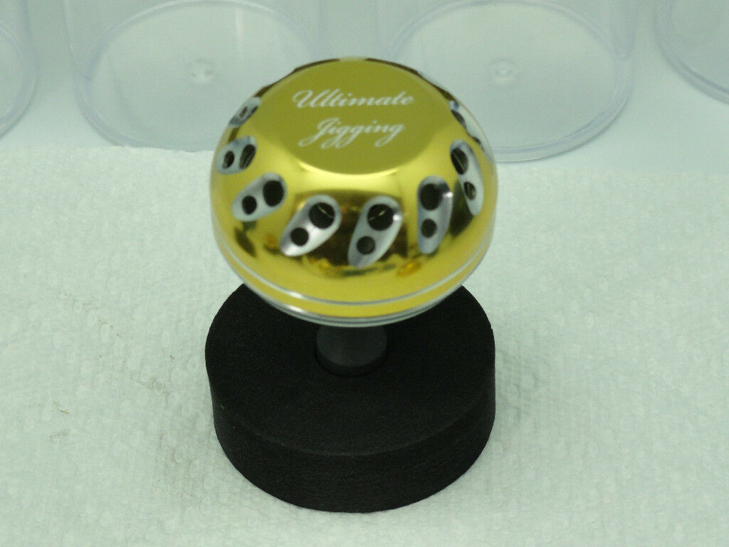 UJ PRK knob 45mm knob PRK for Shimano Talica 8 10 12 16 20 25 Single Two SPD Reel PG/SV 9d1aa3